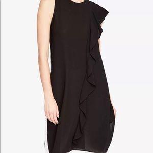 Rachel Roy Black Sheer Long Tunic Top- ChicEwe
